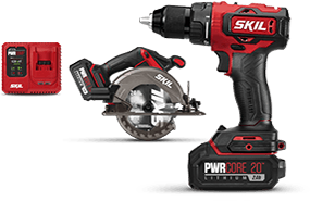 PWRCore 20™ Brushless 20V Drill Driver and Circular Saw Kit
