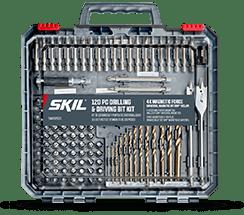 A SKIL drill bit set